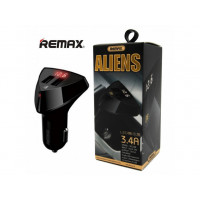 АЗУ с 2-мя USB выходами Remax Alien Series RCC208  With Voltage Display 3.4A
