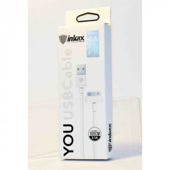 "USB кабель 30pin для iPhone 4/iPad ""inkax"" CK-01-IP4"