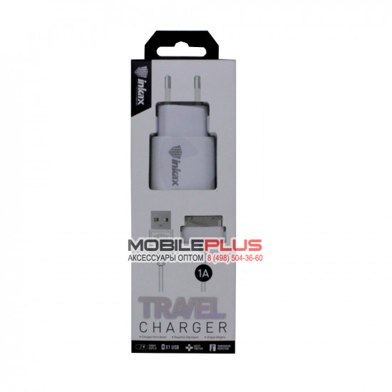 "СЗУ 2в1 30pin для iPhone 4/iPad ""inkax"" CD-08-IP4"