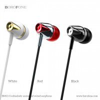 Наушники BOROFONE BM13 CoolMelody 3.5mm Wired Control Earphone