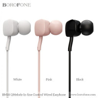 Наушники BOROFONE BM18 Qmelody 3.5mm Wired Control Earphone