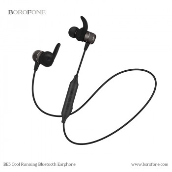 Bluetooth наушники BOROFONE BE5 Cool Running Magnetic Sports Bluetooth Earphone
