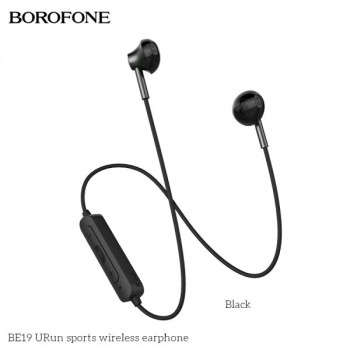 Bluetooth наушники BOROFONE BE19 uRun Magnetic Sports Bluetooth Earphone