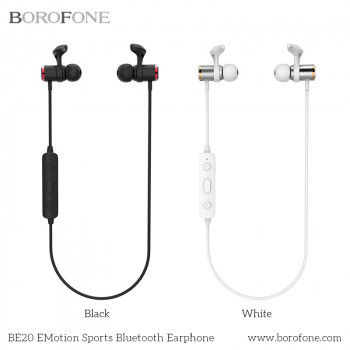 Bluetooth наушники BOROFONE BE20 eMotion Magnetic Sports Bluetooth Earphone