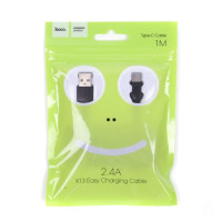 USB кабель type-c HOCO X13 Easy charged Typec charging cable (1M)